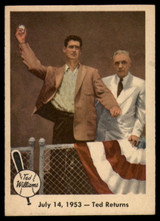 1959 Fleer Ted Williams #48 July 14, 1953 - Ted Returns EX++ Excellent++