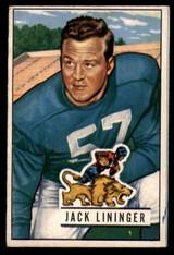 1951 Bowman #135 Jack Lininger EX++ Excellent++