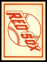 1961 Fleer Baseball Greats Team Logo Decals #2 Boston Red Sox NM-MT  ID: 96029