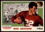 1955 Topps All American #5 Bob Grayson EX++  ID: 90360