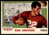 1955 Topps All American #5 Bob Grayson EX++  ID: 90365