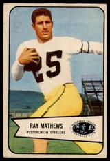 1954 Bowman #1 Ray Mathews VG Very Good