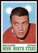 1970-71 Topps #41 Bob McCord Near Mint+  ID: 152312