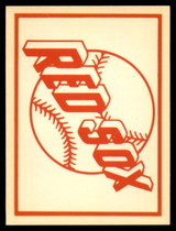 1961 Fleer Baseball Greats Team Logo Decals #2 Boston Red Sox NM+