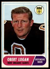 1968 Topps #4 Obert Logan Ex-Mint  ID: 141594