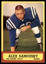 1963 Topps #6 Alex Sandusky Excellent+  ID: 167006