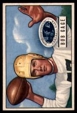 1951 Bowman #131 Bob Gage EX Excellent