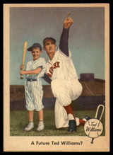 1959 Fleer Ted Williams #69 A Future Ted Williams? EX/NM ID: 52952