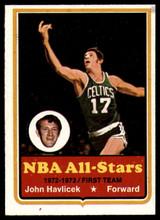1973-74 Topps #20 John Havlicek EX/NM ID: 78043