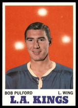1970-71 Topps #36 Bob Pulford Ex-Mint