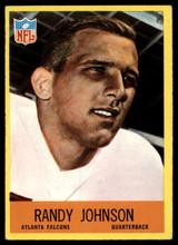 1967 Philadelphia #4 Randy Johnson EX/NM RC Rookie