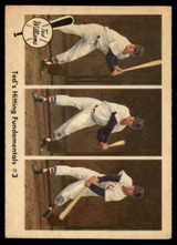 1959 Fleer Ted Williams #73 Ted's Hitting Fundamentals #3 EX++ Excellent++