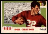 1955 Topps All American #5 Bob Grayson EX