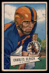 1952 Bowman Small #134 Chuck Ulrich G/VG Good/Very Good