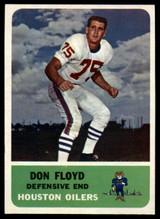 1962 Fleer #54 Don Floyd NM++