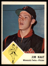 1963 Fleer #22 Jim Kaat EX++