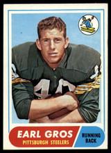 1968 Topps #7 Earl Gros Ex-Mint  ID: 141610