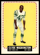1964 Topps #129 Clyde Washington Very Good