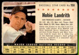 1961 Post Cereal #150 Hobie Landrith Very Good  ID: 144724