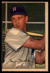 1952 Bowman #15 Sam Mele EX Excellent  ID: 92607