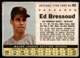 1961 Post Cereal #152 Ed Bressoud Very Good  ID: 144727