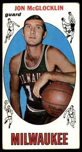 1969-70 Topps #14 Jon McGlocklin VG RC Rookie ID: 54754