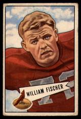 1952 Bowman Small #47 Bill Fischer VG Very Good  ID: 96228
