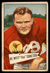 1952 Bowman Small #71 Tex Coulter VG Very Good