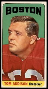1965 Topps #1 Tommy Addison G/VG SP