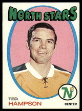 1971-72 Topps #101 Ted Hampson Near Mint