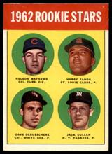 1963 #54 1962 Rookie Stars EX/Mint ID: 89159
