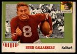 1955 Topps All American #75 Hugh Gallarneau VG/EX  ID: 90448