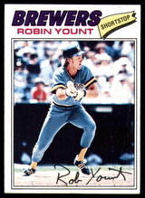 1977 Topps #635 Robin Yount NM ID: 76640