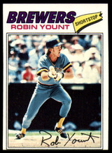 1977 Topps #635 Robin Yount NM ID: 76642