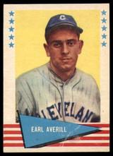 1961 Fleer #5 Earl Averill Very Good