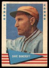1961 Fleer #7 Dave Bancroft Very Good  ID: 175797