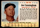 1963 Post Cereal #35 Joe Cunningham G-VG