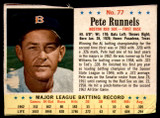 1963 Post Cereal #77 Pete Runnels G-VG