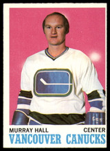 1970-71 Topps #118 Murray Hall Near Mint
