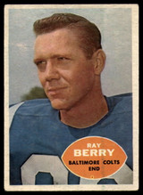 1960 Topps #4 Raymond Berry EX++