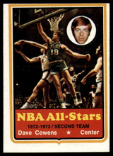 1973-74 Topps #40 Dave Cowens EX/NM