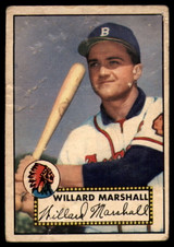 1952 Topps #96 Willard Marshall P