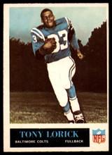 1965 Philadelphia #6 Tony Lorick EX/NM  ID: 121588