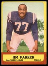 1963 Topps #5 Jim Parker EX Excellent