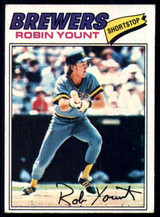 1977 Topps #635 Robin Yount EX/NM ID: 54543