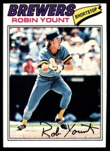 1977 Topps #635 Robin Yount EX/NM  ID: 83221