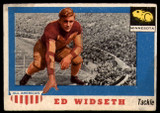 1955 Topps All American #48 Ed Widseth VG