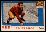 1955 Topps All American #58 Ed Franco VG