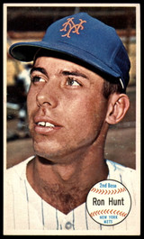 1964 Topps Giants #6 Ron Hunt Ex-Mint  ID: 182856