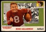 1955 Topps All American #75 Hugh Gallarneau VG  ID: 90446